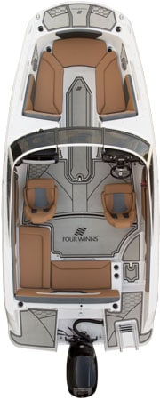 NEW 2019 Four Winns HD 180 RS OB W/Tower - Shipwreck Marine