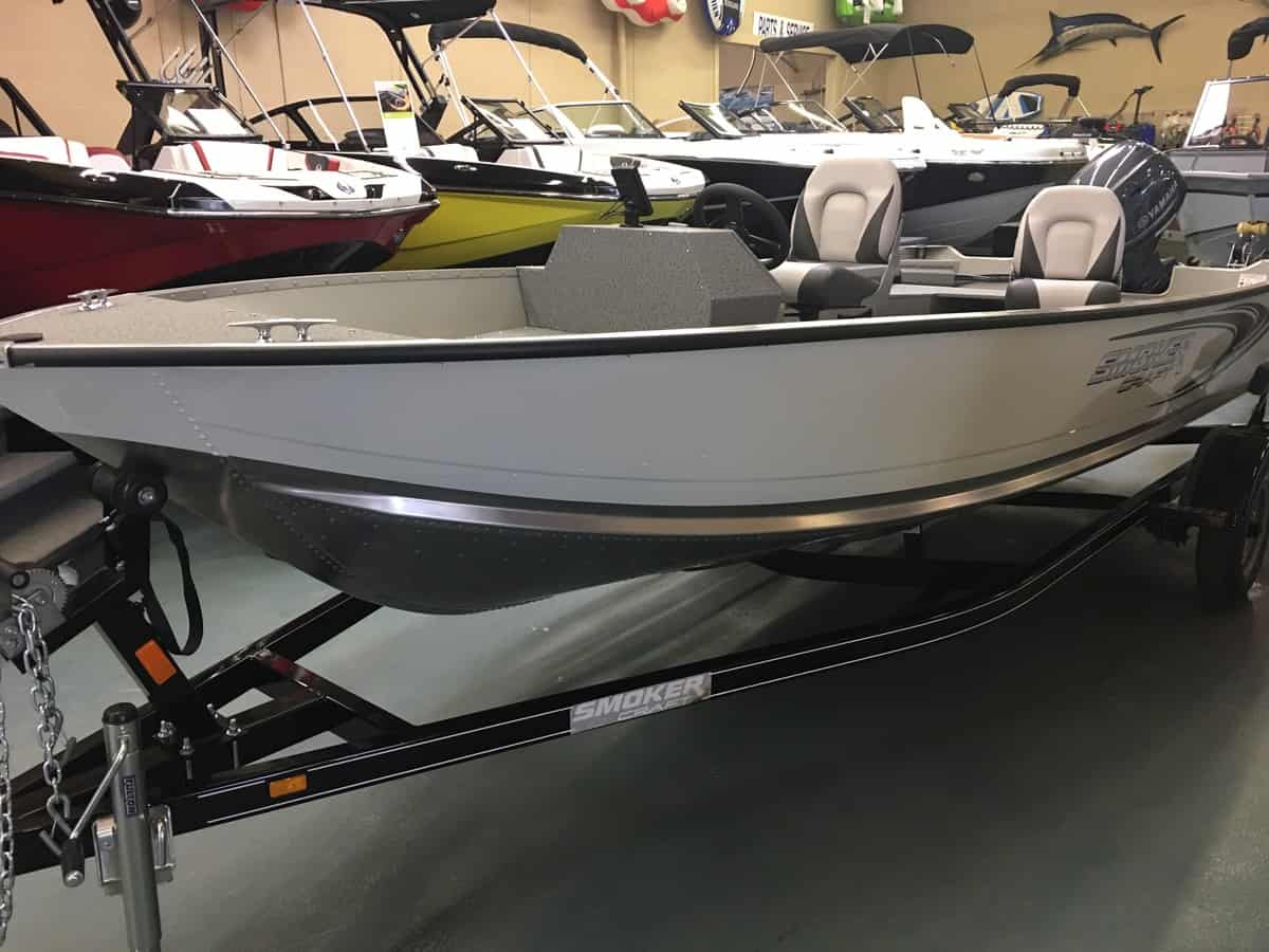 NEW 2019 Smokercraft 16 Angler SC - Shipwreck Marine