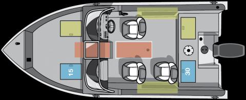 NEW 2019 Starcraft 178 Renegade DC W/115HP Full fishing enclosure - Shipwreck Marine