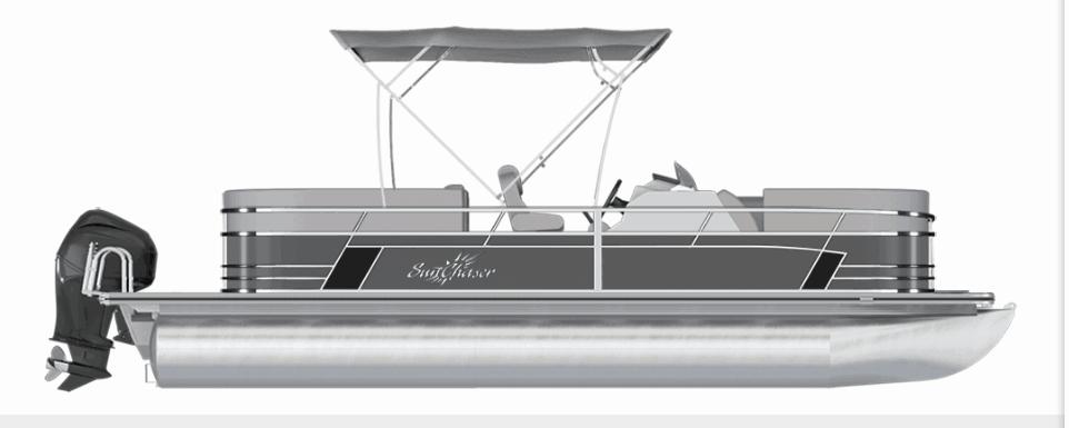 NEW 2019 Sunchaser Geneva 22 DS Cruise 3 Point Fish Package - Shipwreck Marine