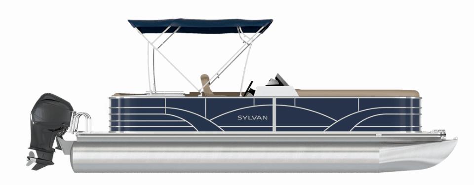 NEW 2019 Sylvan Mirage 8520 Party Fish PTS Tri Toon - Shipwreck Marine