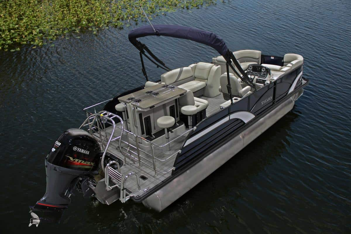 NEW 2019 Sylvan Mirage 8522 DLZ BAR LE W/250 HP TRI TOON - Shipwreck Marine