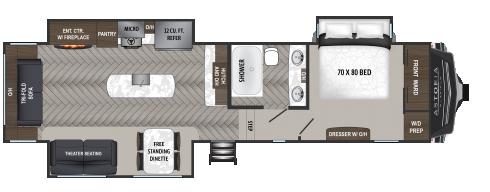 NEW 2021 Dutchmen Astoria 3173RLP