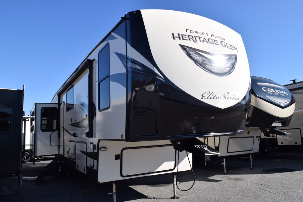 2019 Forest River HERITAGE GLEN 34RL - Three Way Campers