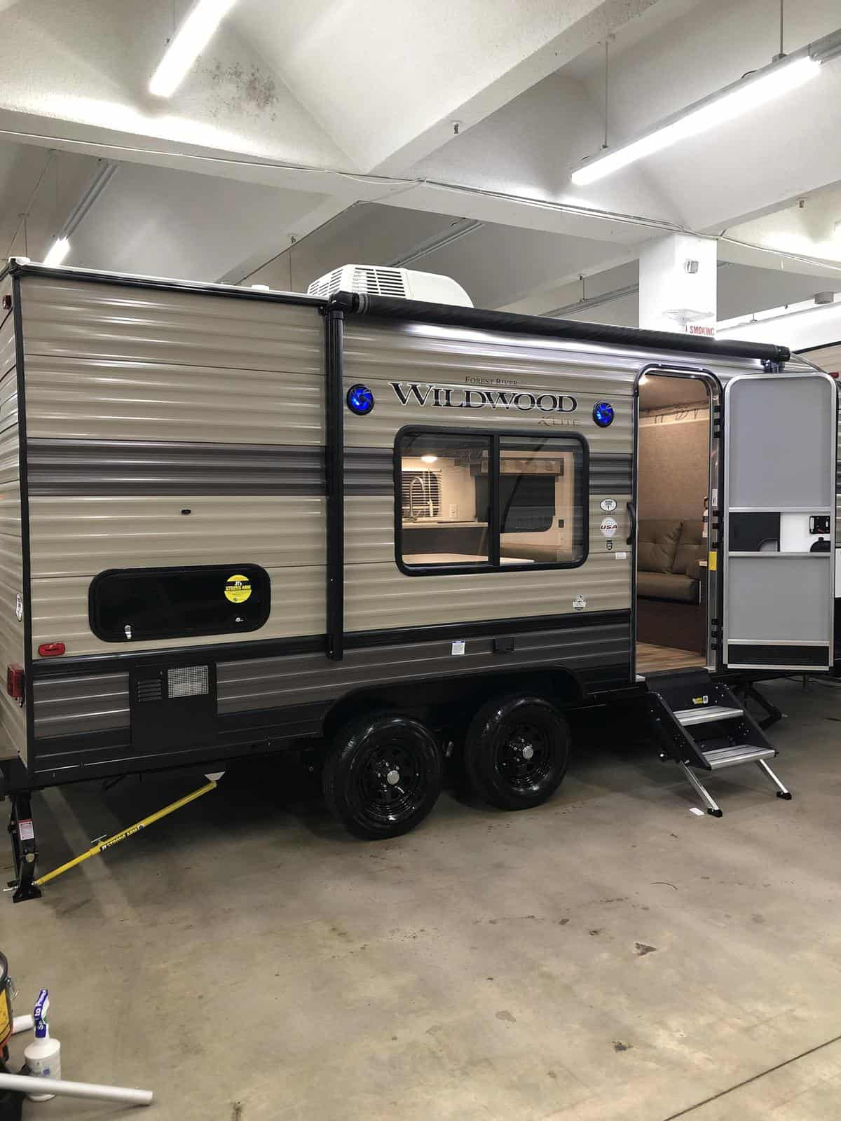 NEW 2019 Forest river Wildwood 171RBXL - Three Way Campers