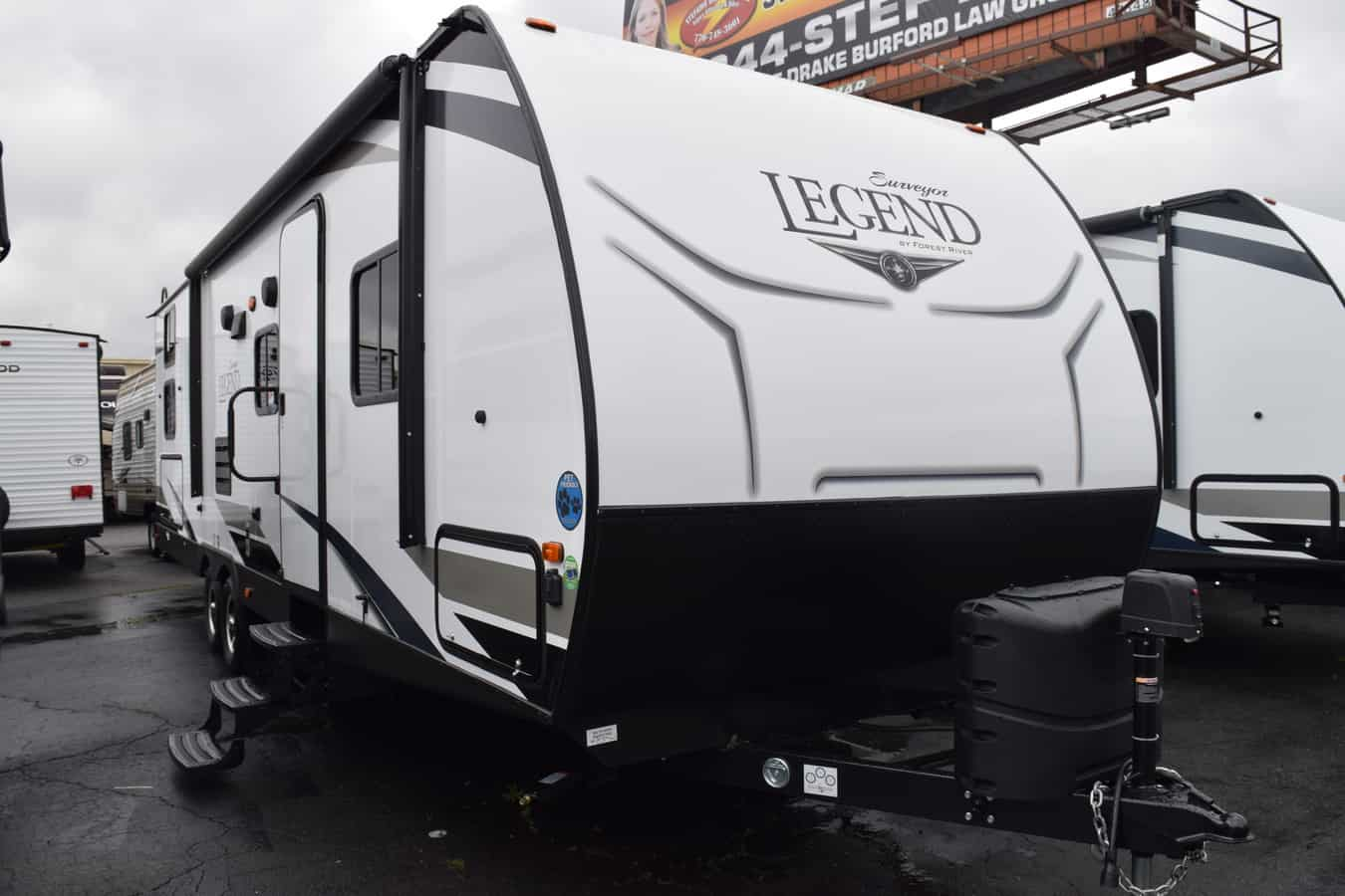 NEW 2019 Forest river Surveyor 295QBLE - Three Way Campers