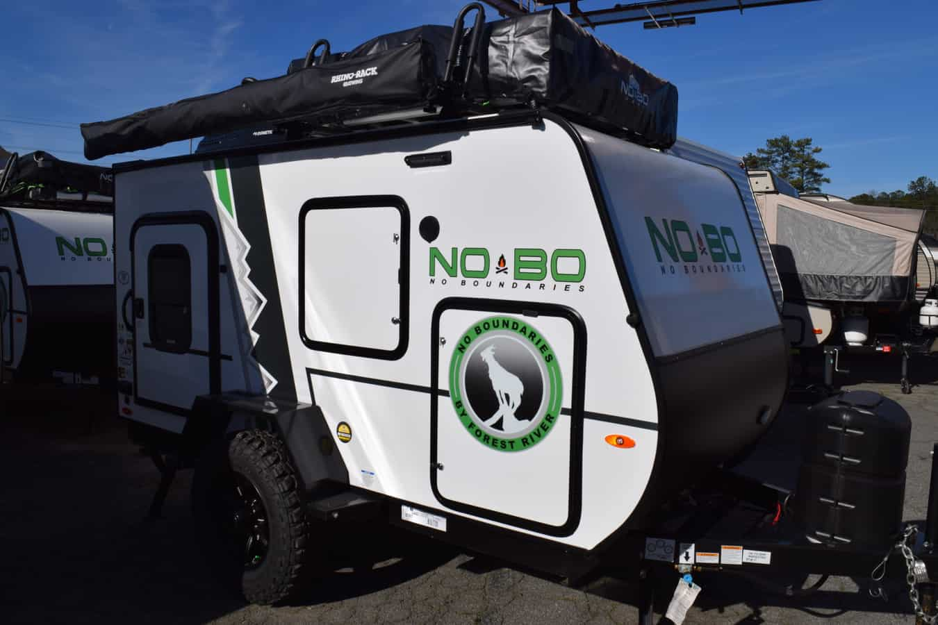 NEW 2019 Forest River NO BOUNDARIES (NOBO) 10.6 - Three Way Campers