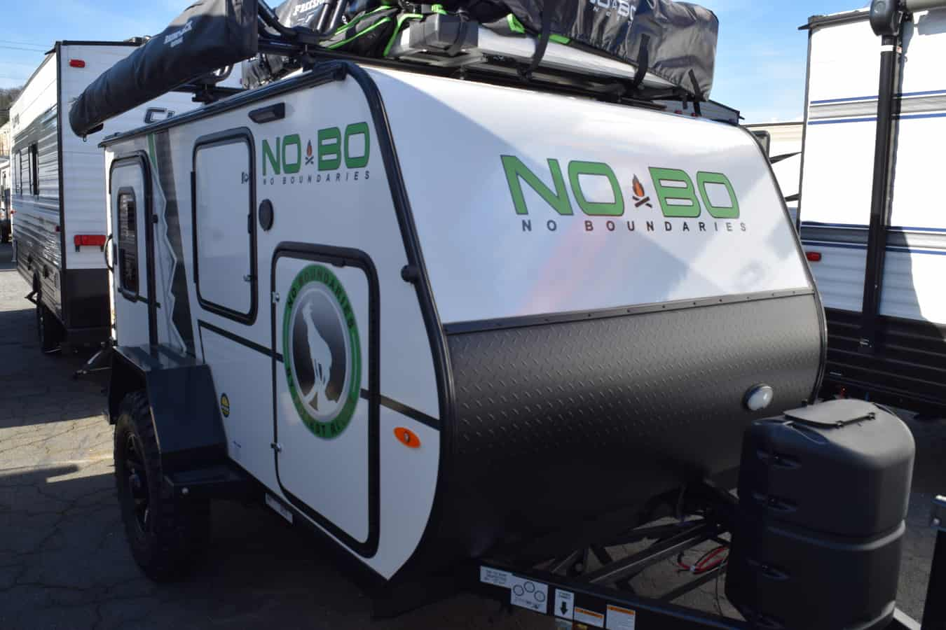 NEW 2019 Forest River NO BOUNDARIES (NOBO) 10.5 - Three Way Campers