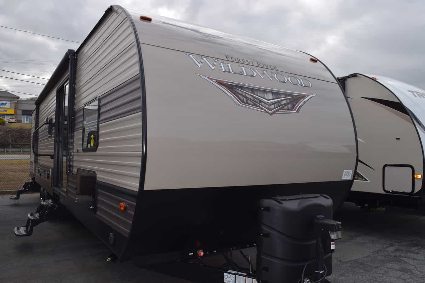 NEW 2019 Forest River WILDWOOD 36BHDS - Three Way Campers