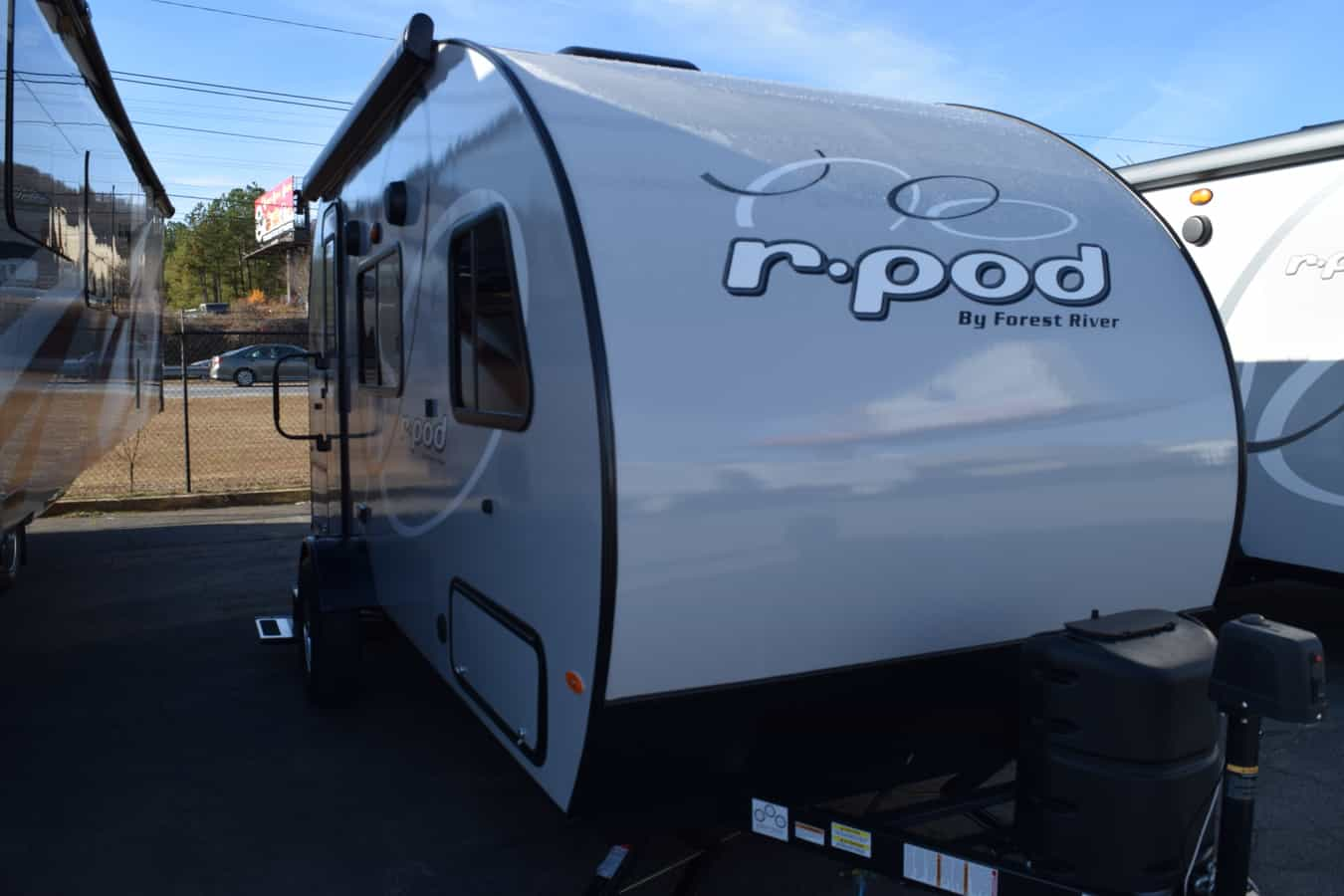 NEW 2019 Forest River R-POD RP-180 - Three Way Campers
