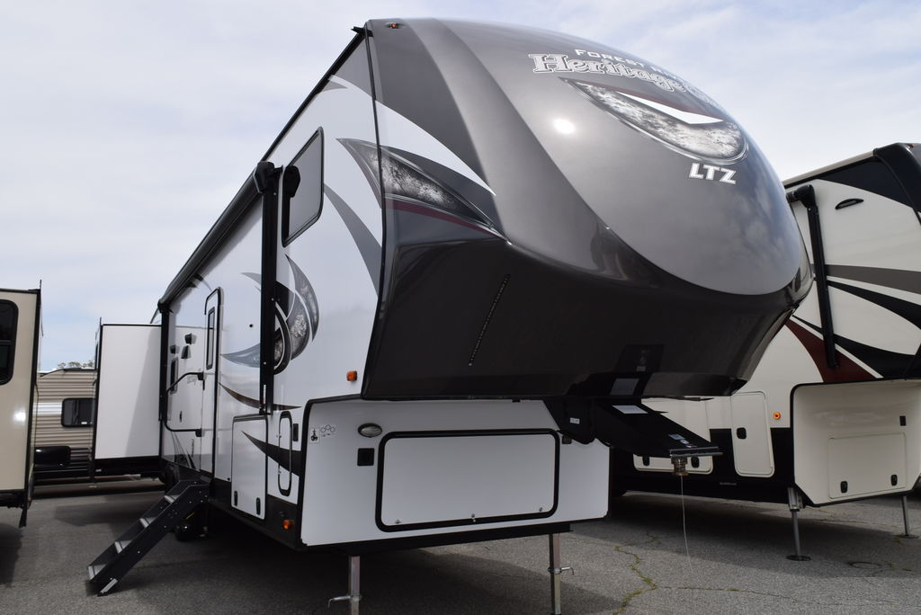 NEW 2018 Forest river Heritage glen 356QB - Three Way Campers