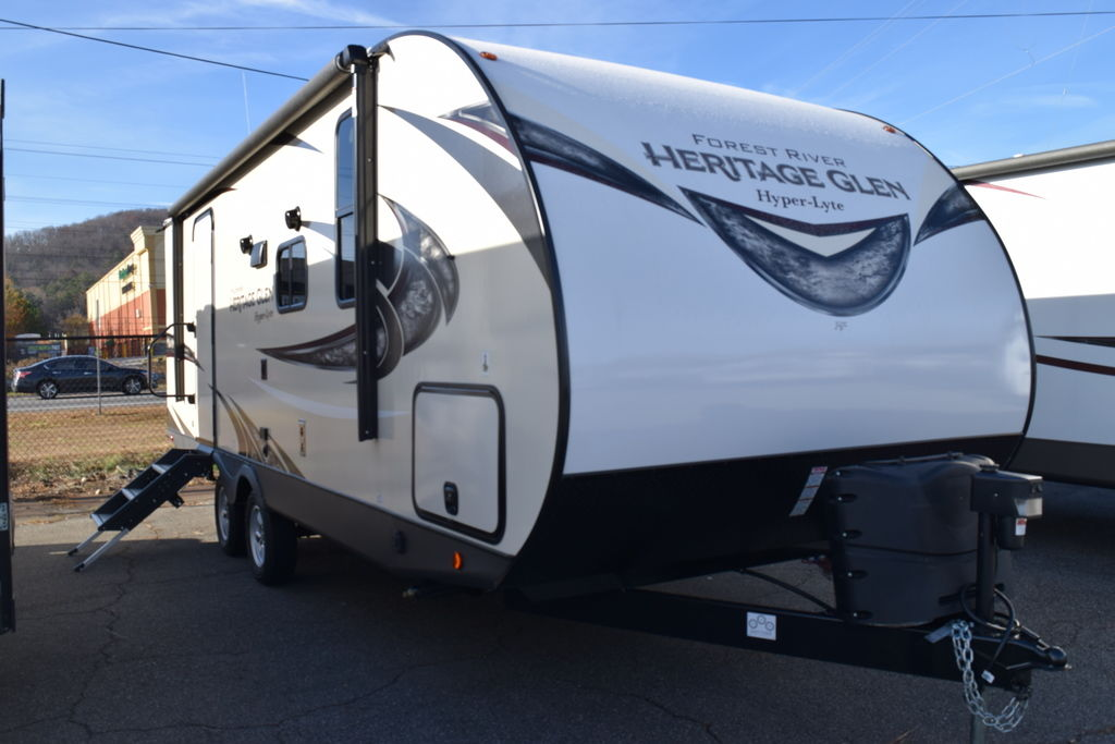 2019 Forest River HERITAGE GLEN 22RBHL - Three Way Campers