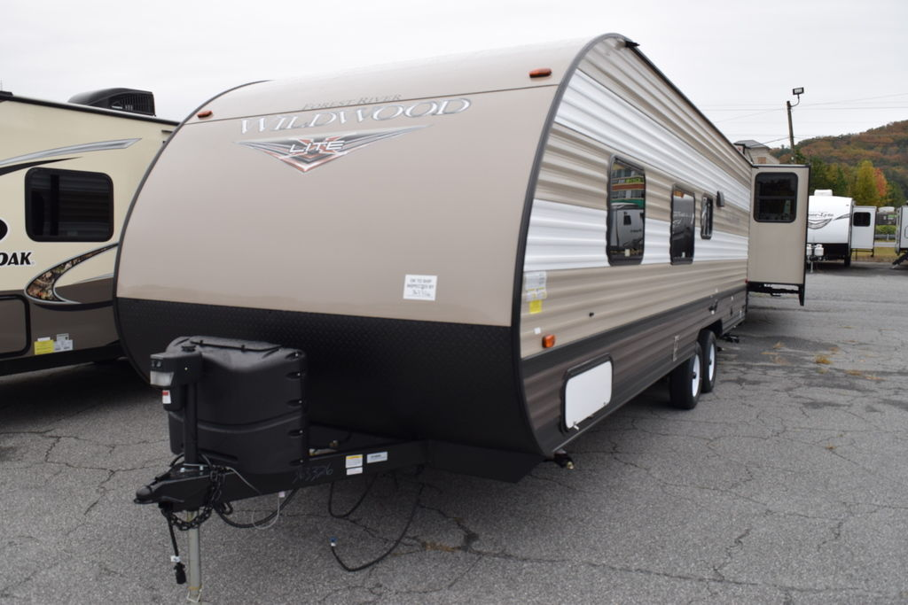 2019 Forest River WILDWOOD 261BHXL - Three Way Campers