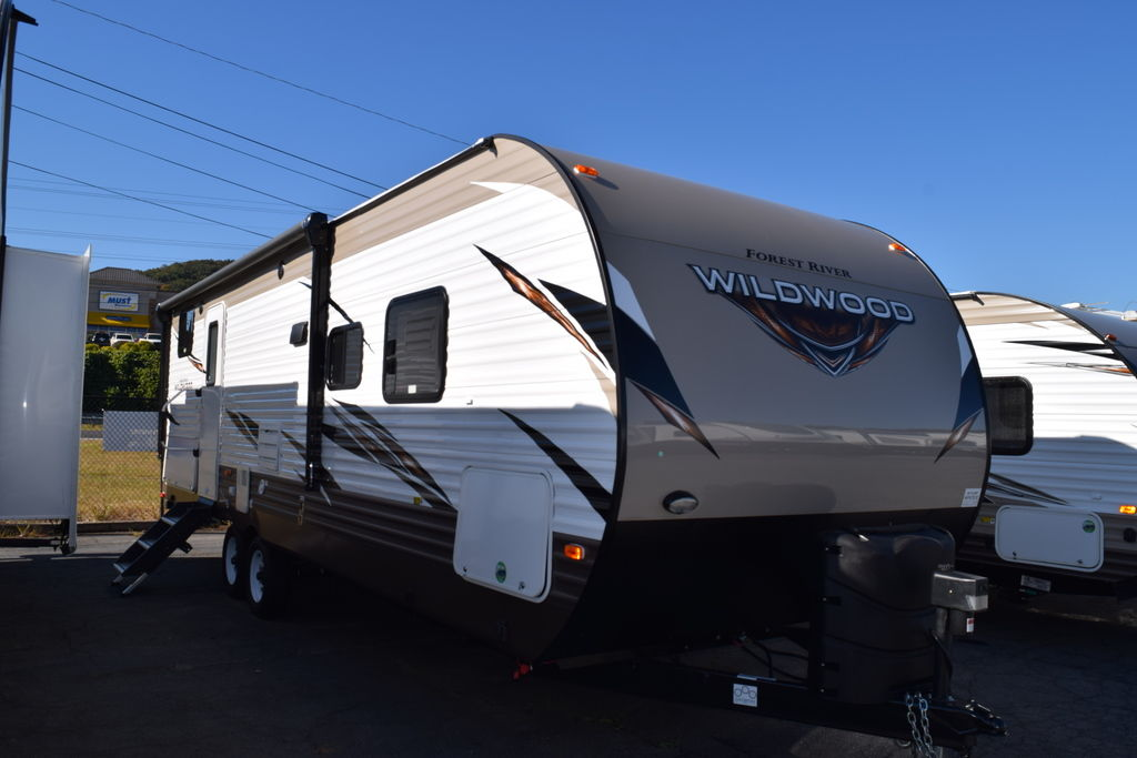 2019 Forest River WILDWOOD 27DBK - Three Way Campers