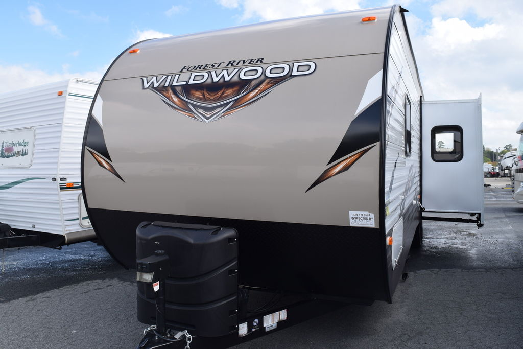 2019 Forest River WILDWOOD WDT27RKSS - Three Way Campers