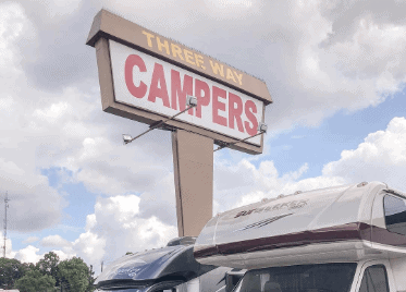 Three Way Campers Billboard