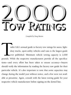 Download 2000 Towing Guide