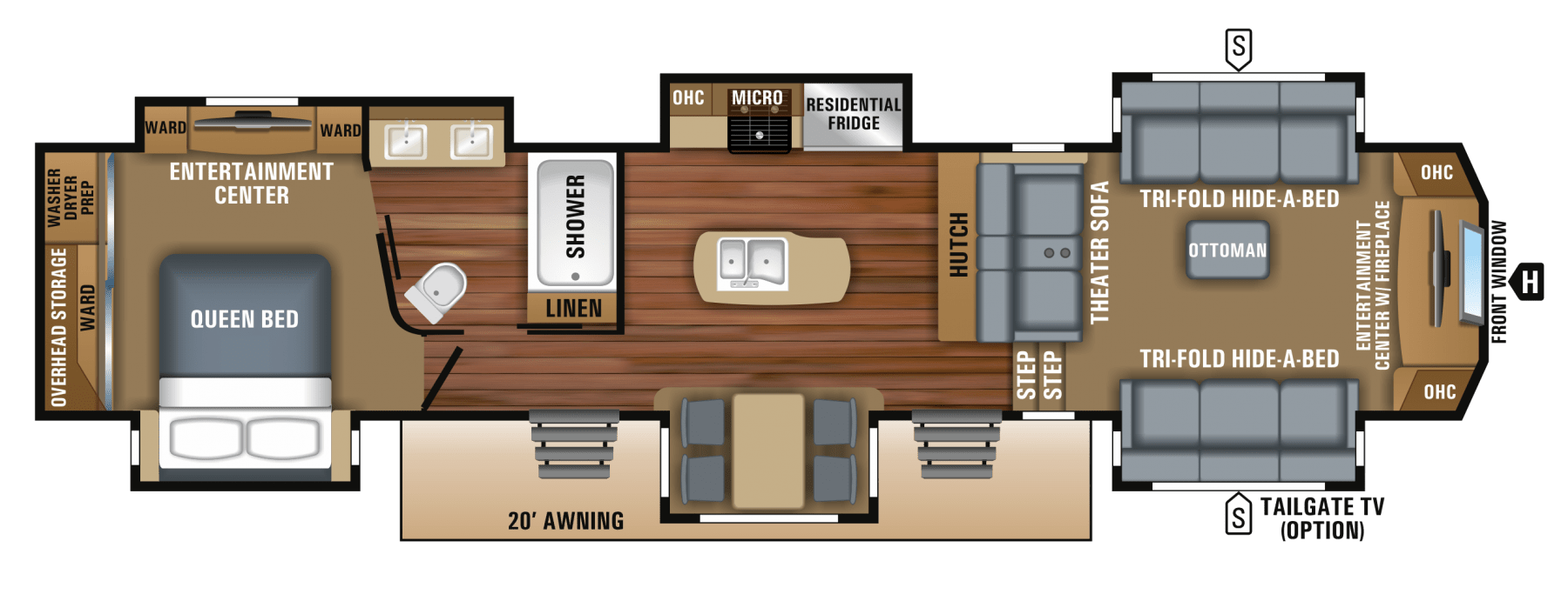 NEW 2019 Jayco North Point 381FLWS
